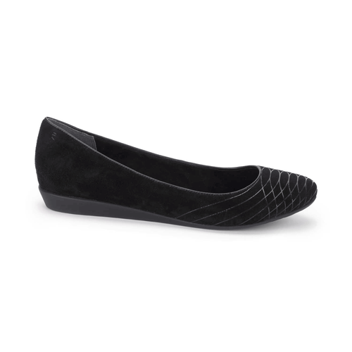 Shehera Welded BalletShehera Welded Ballet, Women's Black Flats